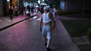 Kota di China Larang Pria 'Pamer Perut' Saat Musim Panas
