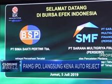 Baru IPO, PAMG Kena Auto Reject