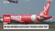VIDEO: Air Asia Indonesia Klaim Sudah Turunkan Harga Tiket
