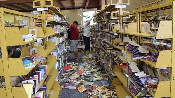 Lagi! Gempa Besar Guncang California, Ini Penampakannya