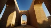 Selama tiga dekade, Irak berupaya memasukkan Babilonia sebagai salah satu Situs Warisan Dunia.(REUTERS/Thaier Al-Sudani)