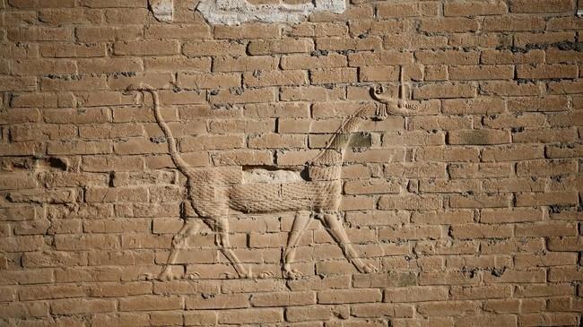 """Mesopotamia benar-benar pilar ingatan umat manusia dan tempat lahirnya peradaban dalam sejarah yang tercatat,"" ujar Perdana Menteri Irak, Adel Abdul Mahdi, melansir Reuters. (REUTERS/Thaier Al-Sudani)"
