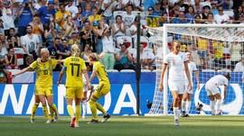 Kalahkan Inggris, Swedia Peringkat Ketiga Piala Dunia Wanita
