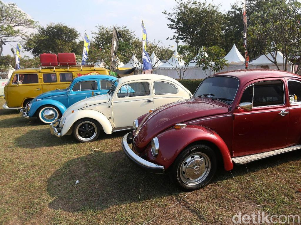 Mobil klasik VW Kodok di Parjo 2019. Foto: Agung Pambudhy