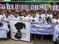 Ribuan Orang Tuntut Keadilan untuk Bocah Korban Pemerkosaan