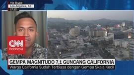 VIDEO: Gempa Magnitudo 7,1 Guncang California
