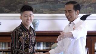 Netizen Bahas Ekspresi Jokowi Saat Dengar Lagu Rich Brian