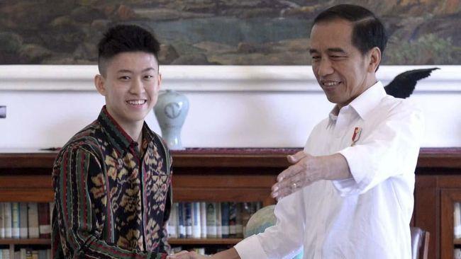 Jokowi Temui Rich Brian di Istana Bogor