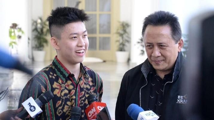 Dino Patti Djalal membalas cuitan bos Bekraf, Triawan Munaf, soal rapper Rich Brian