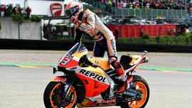 Menang MotoGP Jerman, Marquez Juara Paruh Musim 2019
