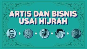 INFOGRAFIS: Kisah Artis dan Bisnis usai Hijrah