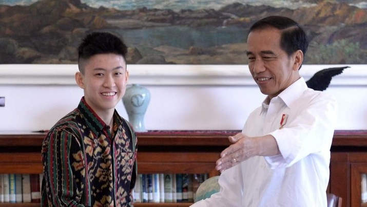 Yo What's Up, Begini Gaya Rich Brian Saat Bertemu Jokowi