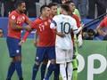 VIDEO: Kartu Merah Messi Nodai Kemenangan Argentina