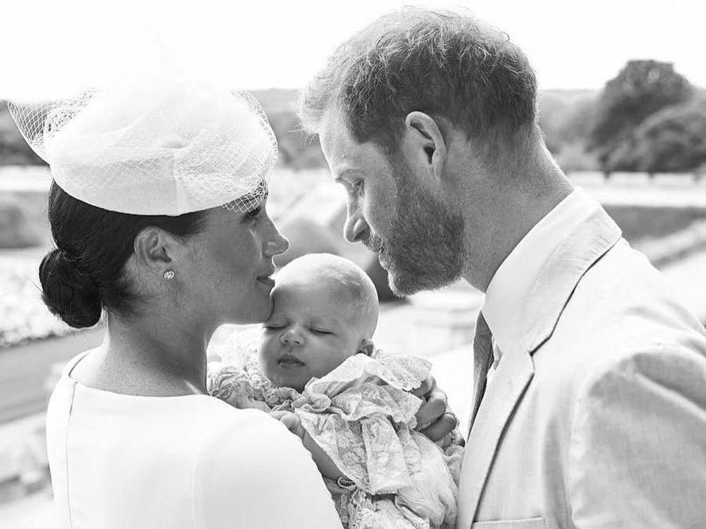 Berambut Merah, Perawakan Archie Makin Mirip dengan Pangeran Harry