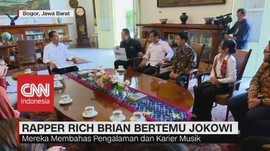 VIDEO: Penyanyi Rap Rich Brian Bertemu Jokowi
