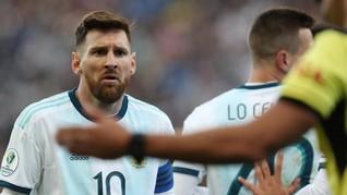 Messi Resmi Dihukum CONMEBOL Terkait Copa America