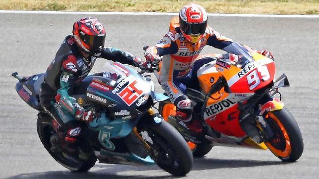 Quartararo Jadi Sinyal Perlawanan Dominasi Marquez di MotoGP