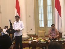 Pidato Lengkap Jokowi Saat Sentil Menteri ESDM & BUMN