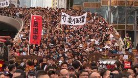 VIDEO: Demo di Hong Kong Berujung Ricuh, Enam Orang Ditahan