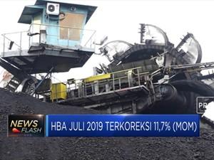 HBA Juli 2019 Terkoreksi 11,7%