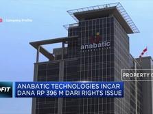 Anabatic Technologies Incar Dana Rp 396 M dari Rights Issue