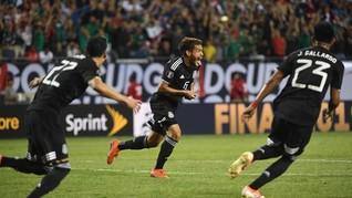 Meksiko Juara Piala Emas 2019
