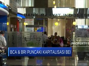 BCA & BRI Puncaki Kapitalisasi BEI