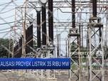 Realisasi Proyek Listrik 35.000 MW Hanya 10%