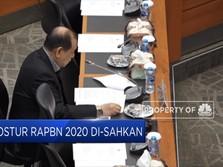 Postur RAPBN 2020 Disahkan