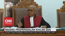 VIDEO: Sidang Praperadilan Kivlan Zen