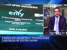 IPO Perdana, ENVY Targetkan Rp 360 M