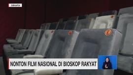 VIDEO: Nonton Film Nasional di Bioskop Rakyat