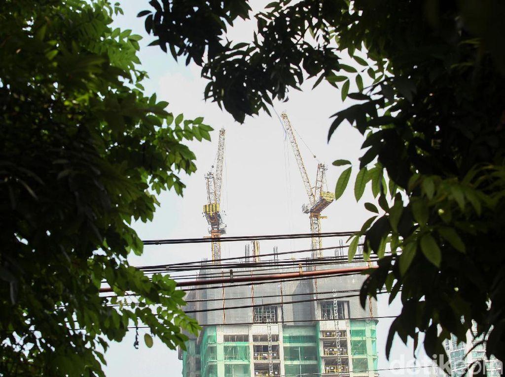 Untuk gedung dengan tinggi 200 meter Jakarta memiliki 39 gedung.