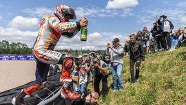 FOTO: Marquez Penguasa MotoGP Jerman