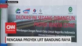 VIDEO: Rencana Proyek LRT Bandung Raya