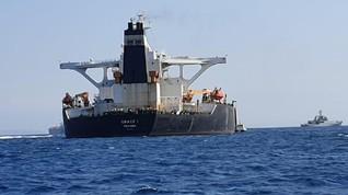 Inggris Bebaskan Tanker Iran yang Ditahan di Gibraltar