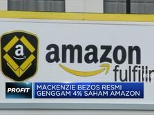 Mackenzie Bezos Resmi Genggam 4% Saham Amazon