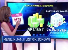 Menilik Janji Listrik Jokowi