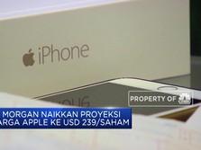 JP Morgan Naikkan Proyeksi Harga Apple ke USD 239 per Saham