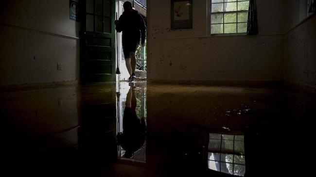 Sejauh ini tidak ada laporan cedera, orang hilang, maupun kematian akibat bencana tersebut. (Marlena Sloss/The Washington Post via AP)