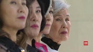 VIDEO: Gaya Muda Model Wanita Tertua di Korea Selatan
