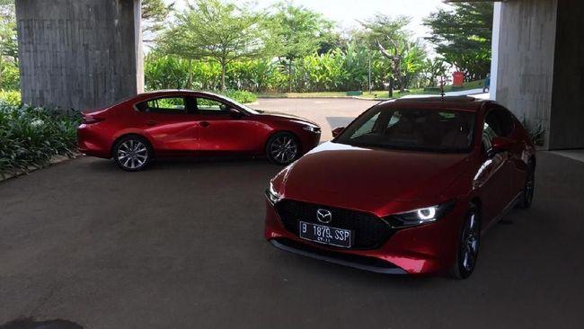 Generasi Baru Mazda3 Dilirik Jadi Mobil Dinas Kepolisian