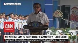 VIDEO: Menkumham Susun Draft Amnesti Baiq Nuril