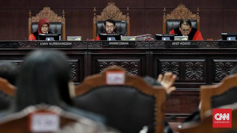 MK Tolak Lanjutkan Sidang 58 Sengketa Pileg 2019