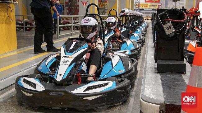 Menjajal F1 dan Jet Sky di Trans Studio Theme Park Cibubur