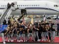 FOTO: Juara Piala Dunia Wanita, Timnas AS Disambut Meriah