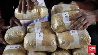 BNN Ringkus Dua Warga Malaysia Penyelundup Sabu 6 Kg