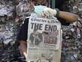 FOTO : Tumpukan Sampah Australia di Surabaya