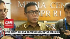 VIDEO: PDIP: Rizieq Pulang, Proses Hukum Tetap Berjalan