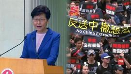 VIDEO: 'Vonis Mati' RUU Ekstradisi Hong Kong Tetap Diprotes